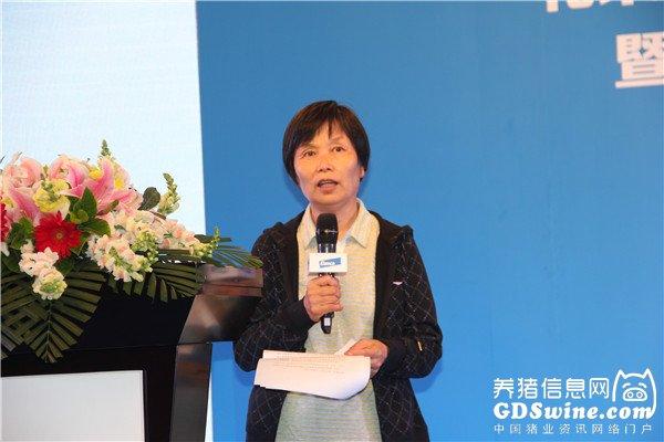 中国兽药协会常务秘书长耿玉亭女士