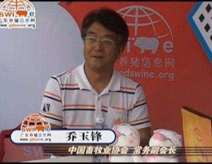 专访中国畜牧业协会副会长乔玉锋