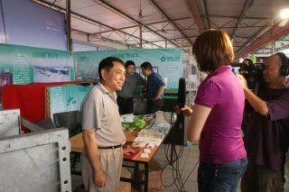上海奥饲本牧业设备接受采访