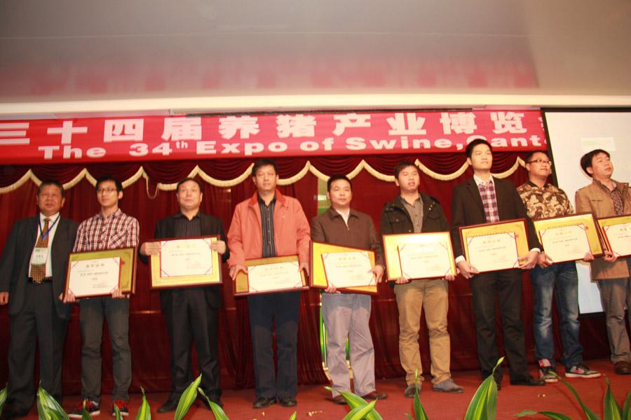 2012年第六届科前杯健康养猪技术比赛