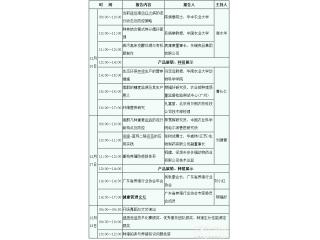第四十二届养猪产业博览会(广州)最新会议议程