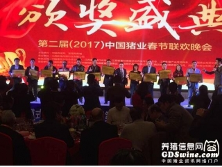 <b>东方澳龙荣获第二届中国养猪业春节联欢晚会优秀节目奖</b>