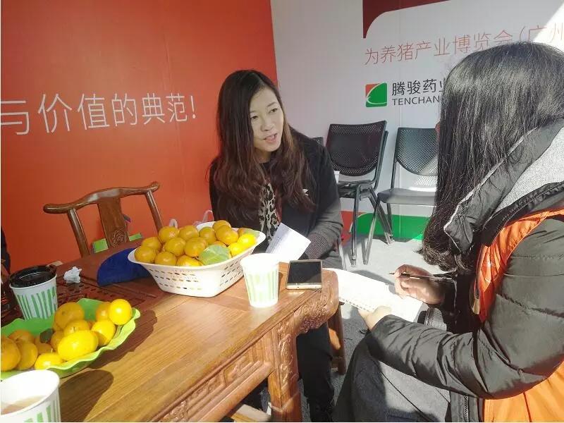 腾骏药业董事长、总经理黄剑华接受养猪信息网采访