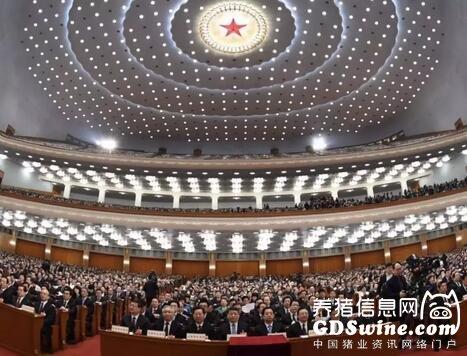 3月13日,十三届全国人大一次会议在北京人民大会堂举行第四次全体会议。