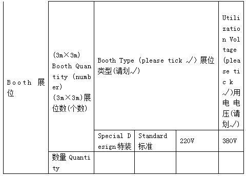 参会参展住宿房间类型及价格表1