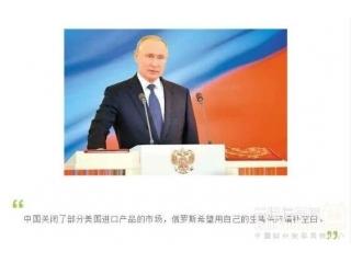 普京:俄罗斯希望用自己的生猪供应中国