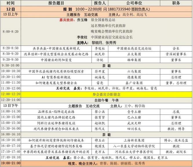 2018第四届中国猪业高峰论坛 暨首届世界猪业博览会 通 知 邀请函1