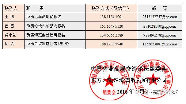 2018第四届中国猪业高峰论坛 暨首届世界猪业博览会 通 知 邀请函3
