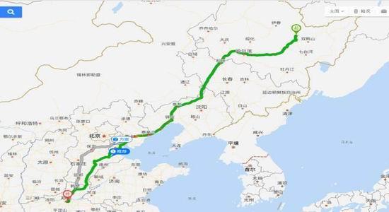 图2:河南双汇黑龙江采购流向