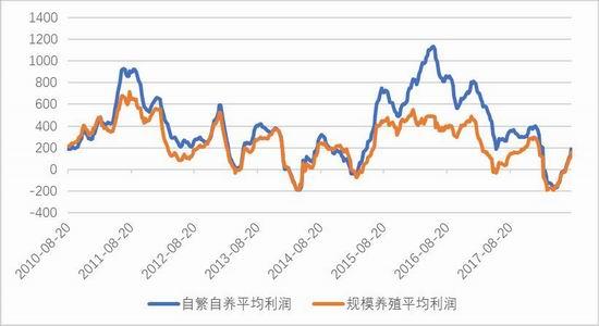 图11:生猪养殖利润(元/头)
