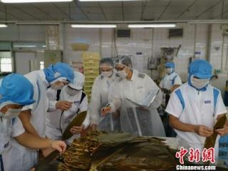 "<b>深圳口岸""供港粽""出口火热,肉类原料必须依法来自出口备案的屠宰企业</b>"