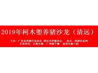 广东省养猪行业协会助力抗非复产增产,将举办系列技术研讨会