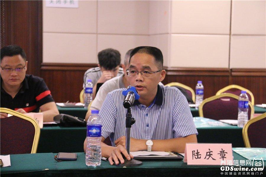 广州力智农业有限公司副总经理陆庆章