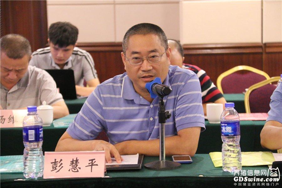大北农华南养猪集团副总裁彭慧平